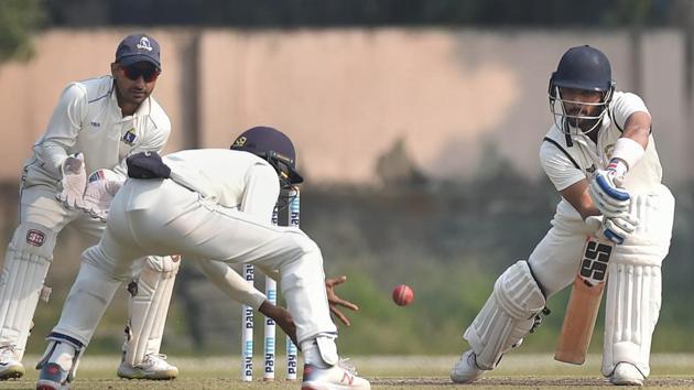 Punjab batsman Mandeep Singh.(PTI)