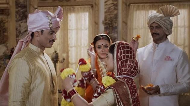 Shiv Panditt-Tridha Choudhury and Hrishita Bhatt-Arunoday Singh play two married couples on the show.