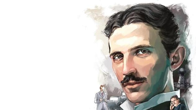 Nikola Tesla designed the alternating-current (AC) electrical system which quickly became the worldwide standard.(ILLUSTRATION: Unnikrishnan)