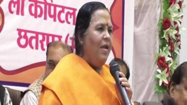 BJP leader Uma Bharti.(ANI Photo)