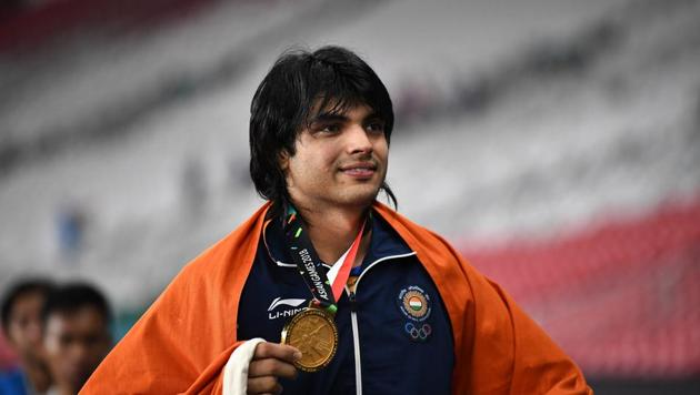 File photo of Neeraj Chopra(Getty Images)