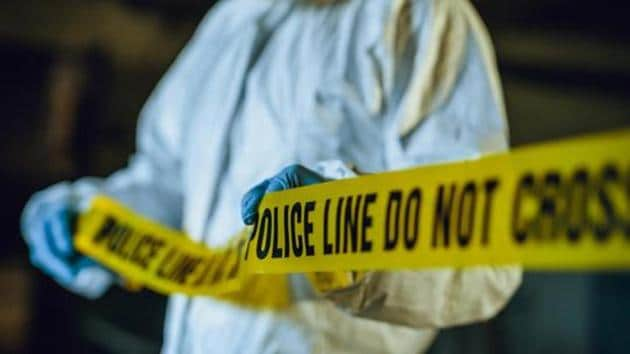 Police line tape. Crime scene investigation. Forensic science.(Getty Images)