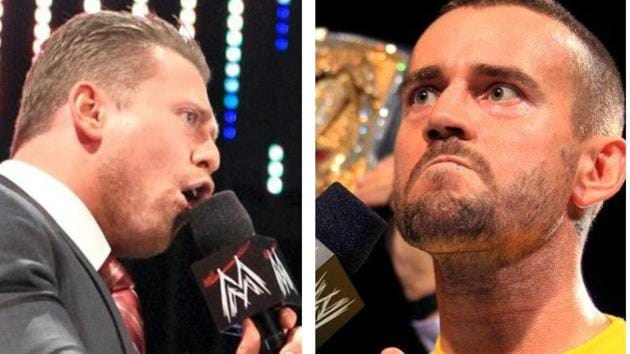 The Miz and CM Punk.(WWE)