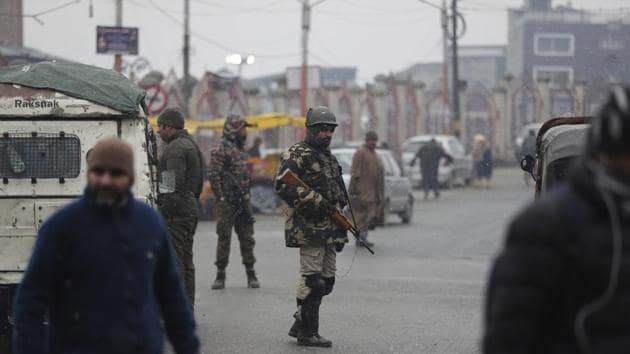 Mobile phone, landline and internet services were disconnected in the erstwhile state of Jammu and Kashmir on August 4.(AP)