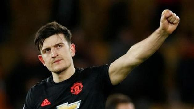 File image of Manchester United defender Harry Maguire.(REUTERS)