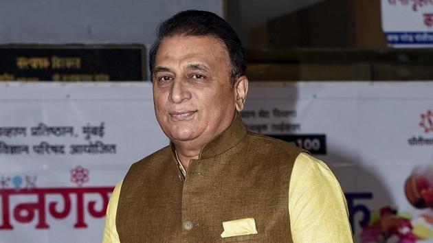 File photo of Sunil Gavaskar.(File)