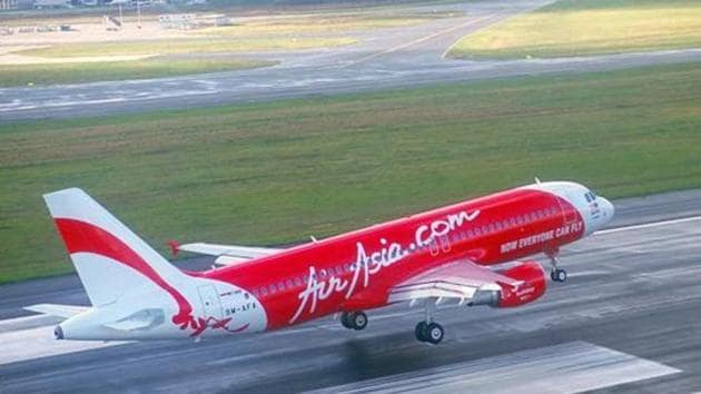 A Mumbai-bound AirAsia plane carrying 114 passengers made an emergency landing at the Kolkata airport after a woman threatened to blow up the aircraft on Saturday.(Photo courtesy: airasia.com)