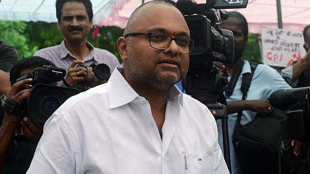 File photo of Karti Chidambaram. (ANI PHOTO)