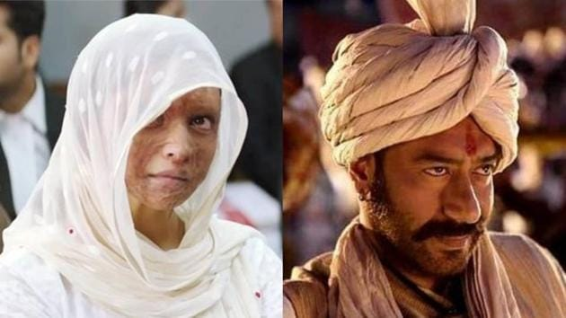 Tanhaji and Chhapaak box office: The two films are expected to gain during the Makar Sankranti holiday.