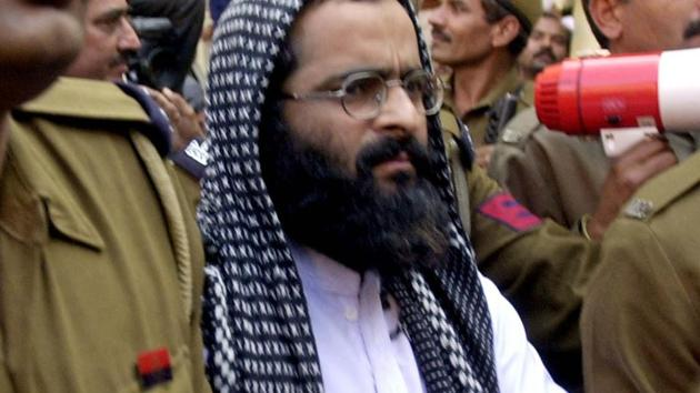 Afzal Guru was hanged in 2013 for waging of war against the state, murder and criminal conspiracy; conspiring and knowingly facilitating terrorist acts and harbouring and concealing terrorists.(AP File Photo)