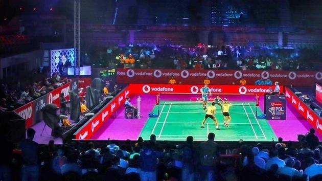 File photo of Pro Badminton League.(Pro Badminton League)