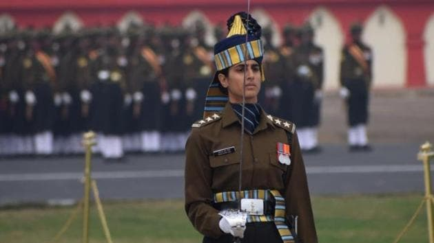 Captain Taniya Shergil is a fourth generation soldier.(HT Photo)