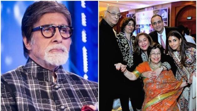 Amitabh Bachchan wrote a poignant tribute for 'samdhan' Ritu Nanda.