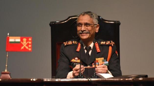 Chief of the Army Staff General Manoj Mukund Naravane(Sonu Mehta/HT PHOTO)