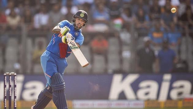 Indian batsman Shikhar Dhawan(PTI)