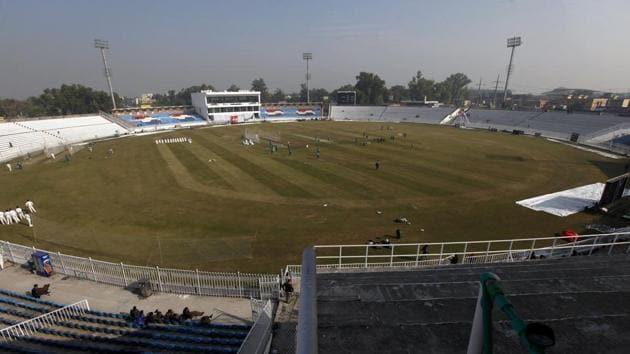 Pindi stadium in Rawalpindi, Pakistan(AP)