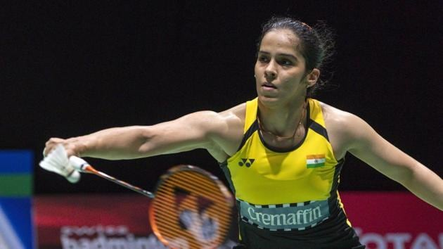 File photo of Saina Nehwal.(AP)