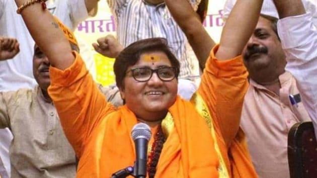 Pragya Thakur, MP from Bhopal(Twitter/@Satanyahu)