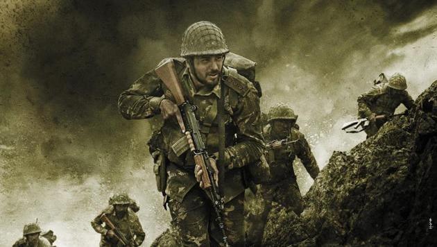 Sidharth Malhotra as Captain Vikram Batra in Shershaah poster.