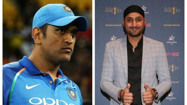 Harbhajan Singh talks about MS Dhoni's future.(Getty Images)