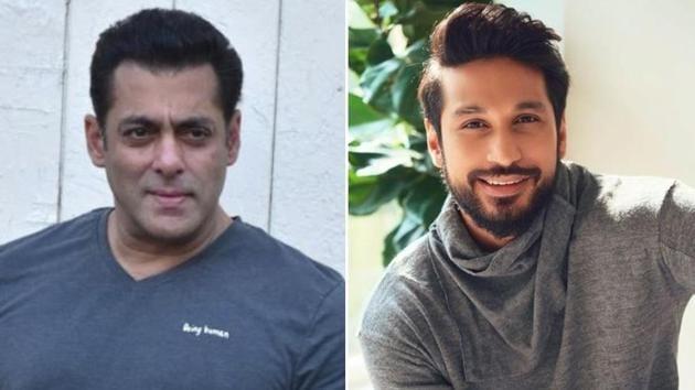 Salman Khan will introduce singer Arjun Kanungo to Bollywood.(Instagram/HT Photos)
