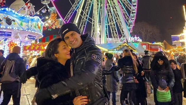 Divyanka Tripathi and Vivek Dahiya got engaged on January 15, 2016.