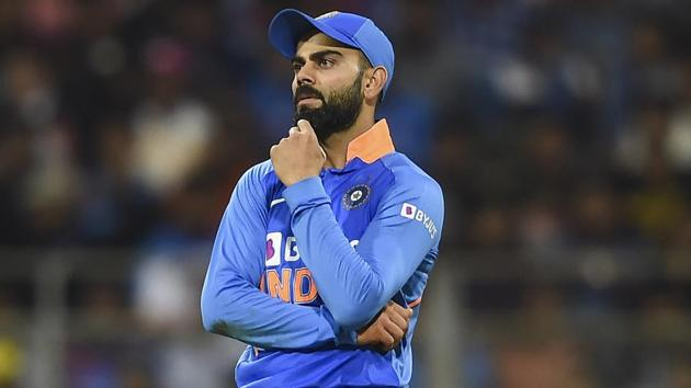 Virat Kohli has been dismissed six times by Adam Zampa in limited overs cricket.(PTI)
