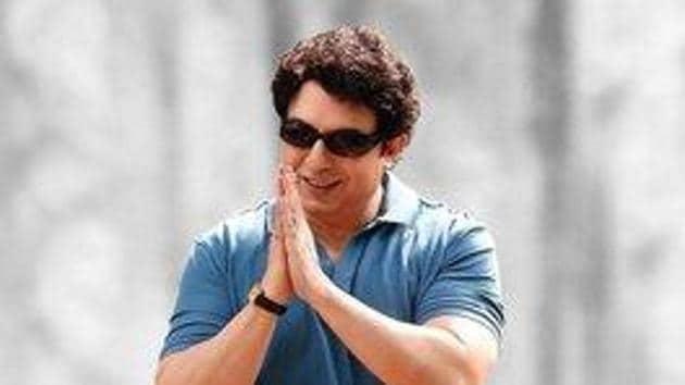 Arvind Swami as MGR in Thalaivi.
