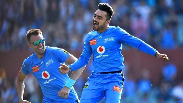 Rashid Khan of the Strikers(Getty Images)