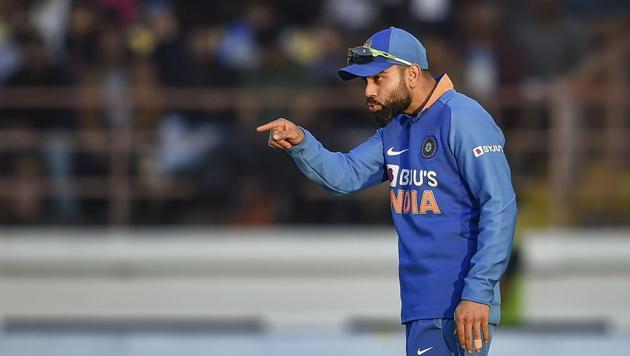 Indian captain Virat Kohli during the second one day international.(PTI)