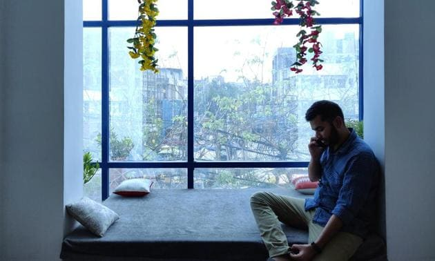 A napping nook at 91springboard's Okhla coworking space. Other of their facilities also offer shower rooms, vending machines and 24x7 tech support and security.