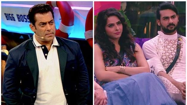 Salman Khan scolded Vishal Aditya Singh and Madhurima Tuli for their violence in Bigg Boss 13.