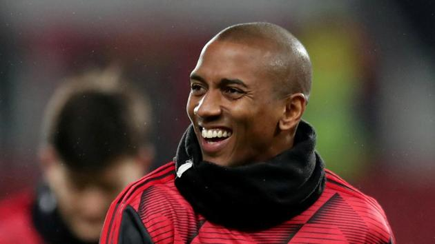 Former Manchester United defender Ashley Young.(REUTERS)