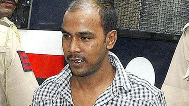 Mukesh Singh, who has been ordered to be hanged on January 22 along with three others, had sent across the mercy petition on Tuesday(HT Photo)