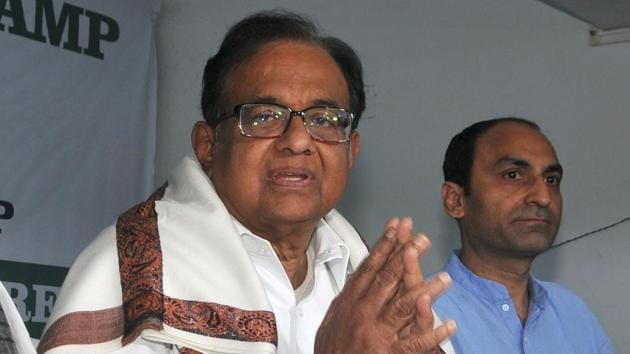 Senior Congress leader P Chidambaram present at a workshop on National Register of Citizens (NRC), CAA, NPR, conducted to train party's state leaders at Bidhan Bhavan in Kolkata on Saturday, January 18, 2020.(Photo: Samir Jana)