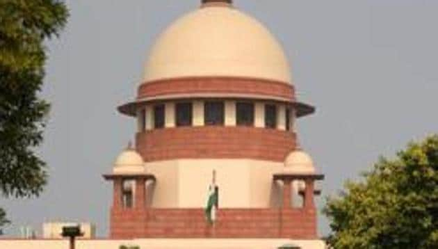 The Supreme Court will hear on Monday the plea by Communist Party of India (Marxist) and NGO Association for Democratic Reforms and seeking a stay on the electoral bonds scheme of 2018.(Amal KS/HT PHOTO)