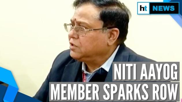 'Watch dirty films': NITI Aayog member says 'misquoted' on J&K net ban remark