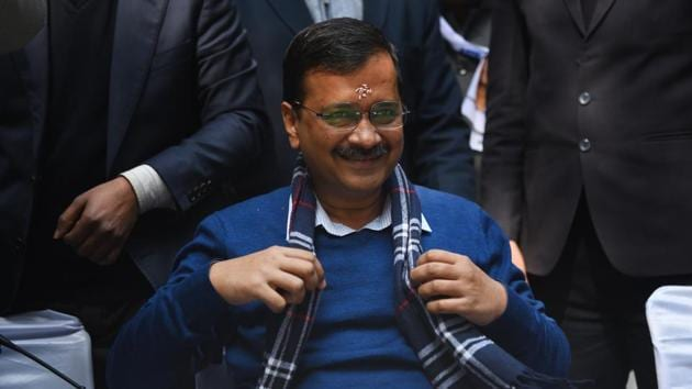 In 2013, Kejriwal defeated then-chief minister Sheila Dikhshit of the Congress.(Sanchit Khanna/HT PHOTO)