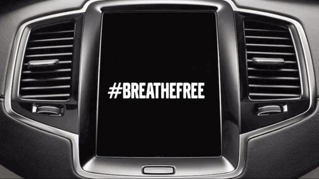Through its #BreatheFree campaign, Volvo India is actively promoting and providing innovations to bring down air pollution in the country.(Volvo)