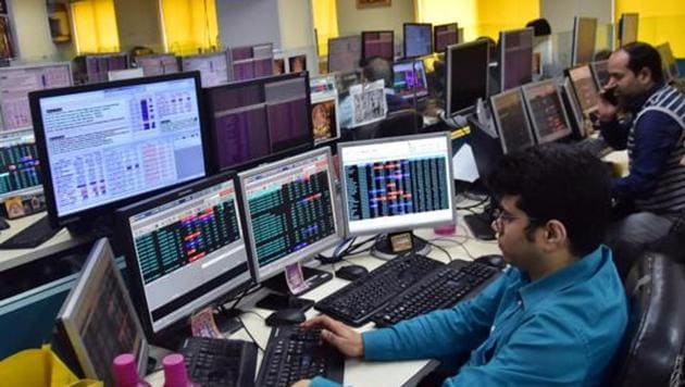According to traders, domestic investors turned wary amid subdued quarterly results by key index constituents and negative cues from global markets.(ANI)