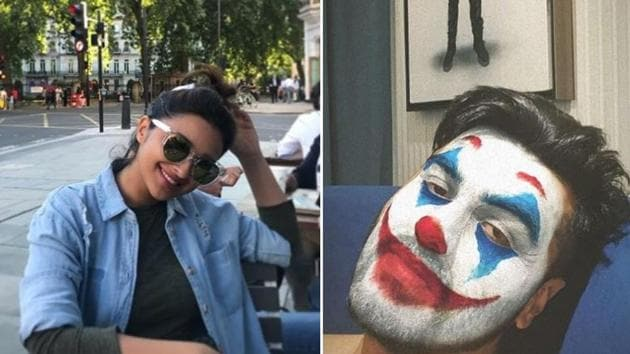 Arjun Kapoor posted a picture of himself in the Joker avatar.