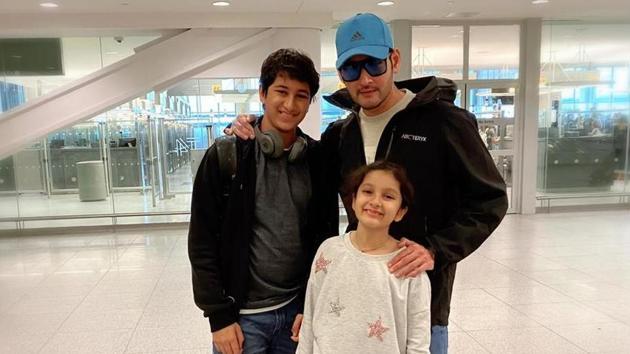 Mahesh Babu and Namrata Shirodkar have left for the US for a holiday.