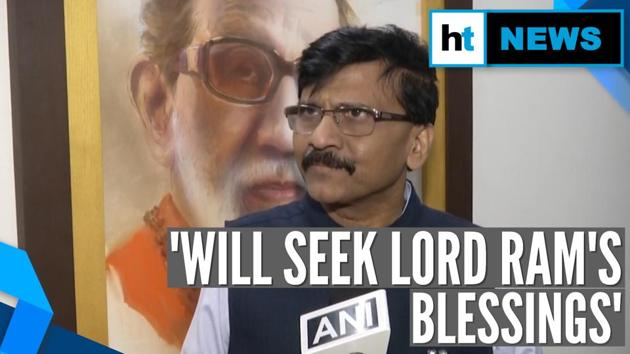 Maharashtra Chief Minister, Uddhav Thackeray, will visit the temple town of Ayodhya, once the Shiv Sena-led coalition government completes 100 days in office. Shiv Sena leader Sanjay Raut made this announcement while crediting Hindu god Ram for the party's recent good fortune. Ayodhya is considered to be Ram's birthplace. Raut also invited the Sena's allies in the government - Nationalist Congress Party and Indian National Congress. He said that Rahul Gandhi regularly visits temples. He also clarified that the state government does not run on 'Mandir, Masjid, Gurudwara, Church', but on issues like 'roti, kapda, makaan'.