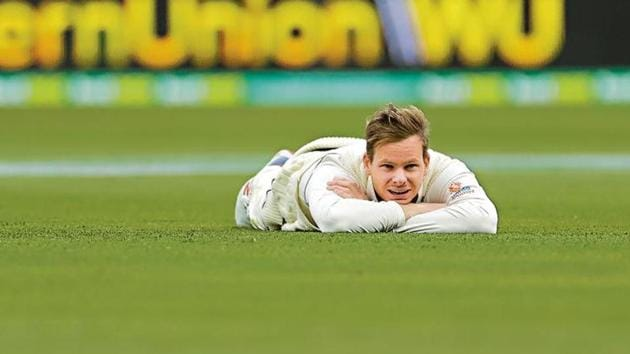 Australia's Steve Smith made a dream comeback at the World Cup and the 2019 Ashes in England after serving a one-year ban for ball tampering(Getty Images)