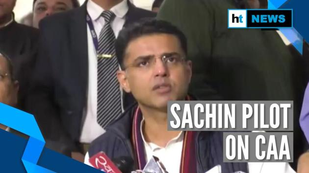 "Rajasthan Deputy Chief Minister Sachin Pilot said the government will pass a resolution against the Citizenship Amendment Act. Sachin said the Centre government should listen to people protesting against CAA. ""We are requesting the central government to reconsider the act. The Constitution has given the right to protest but if someone does it, they are attacked and called anti-nationals,"" Pilot, who is also the chief of Pradesh Congress Committee, said on Thursday."