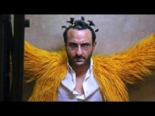 A still from Kaalakaandi (2017). Like his character in the film, Saif Ali Khan is doing what he wants, regardless of the rules.