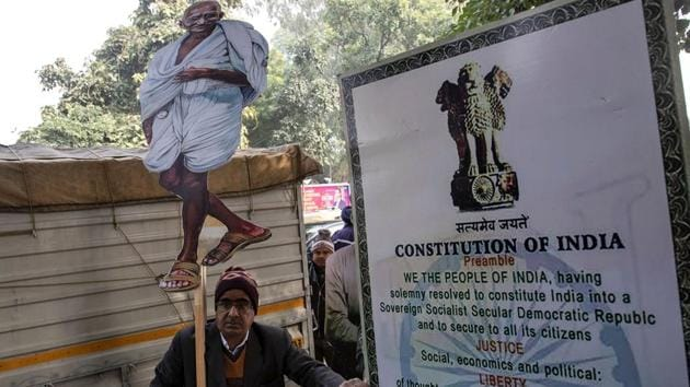 Before Madhya Pradesh, the Maharashtra government made reading of the Preamble to the Constitution mandatory for school students in 2013. In fact, in Maharashtra a resolution to the effect was adopted by the government in 2013, but it was not implemented. (Image used for representation).(REUTERS PHOTO.)