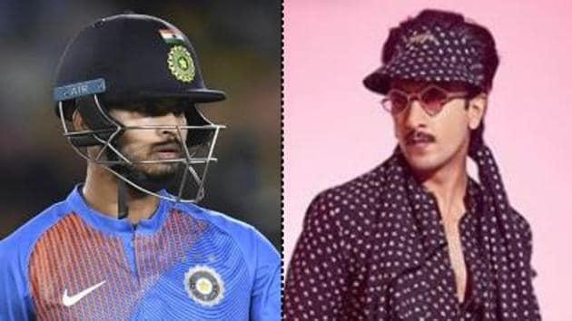 Shreyas Iyer and Ranveer Singh (R)(PTI Image and Ranveer Singh/ Instagram)