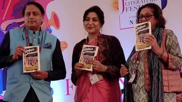 JLF director Namita Gokhale releases new book titled Jaipur Journals.(https://jaipurliteraturefestival.org/)