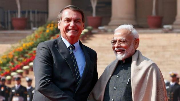 India and Brazil on Saturday vowed to work closely at the global anti-terror watchdog FATF(REUTERS)